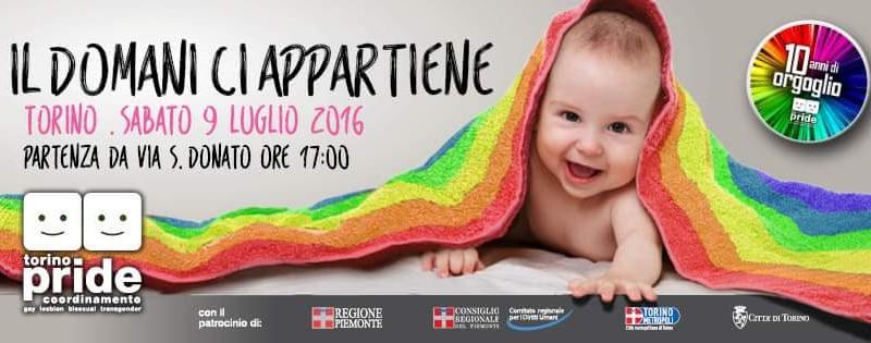 Gay Pride 2016 Torino